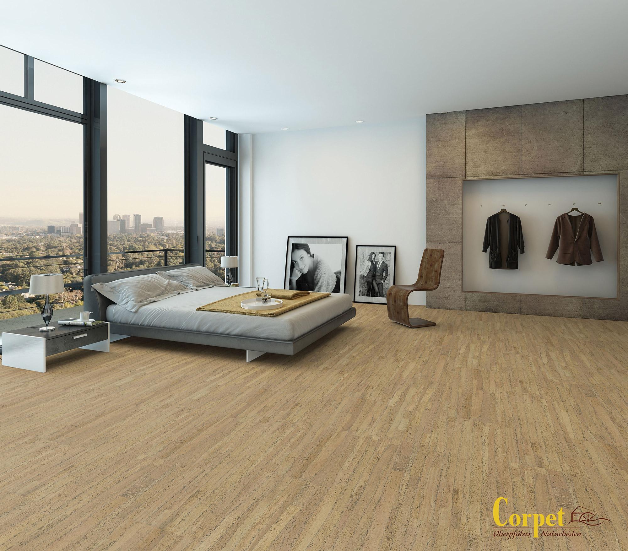 very bodenbelag schlafzimmer kork zt75 kyushucon. Black Bedroom Furniture Sets. Home Design Ideas